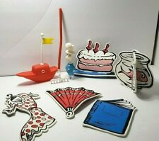 Cat In The Hat I Can Do That! Game Replacement Parts Dr Seuss Day Cake Toppers