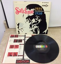 Satchmo A Musical Autobiography Of Louis Armstrong Decca LP DL 74330 Tested