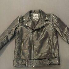 Men's Jordan Craig Motorcycle Jacket Solid Army Green Size Large Brand New!