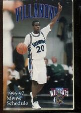 Schedule College Basketball Villanova - 1996 1997 - Office Pavilion Full
