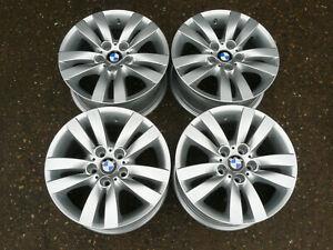 """4x GENUINE BMW 3 SERIES REFURBISHED ALLOY WHEELS 17"""" 6775599 E90 E91 E92 E93 F30"""