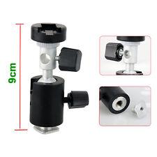 C Type 360° Swivel Flash Shoe Umbrella Holder Light Stand Tripod Bracket Adapter