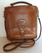 COACH BROWN VINTAGE MESSENGER LEATHER bag shoulder bag purse handbag. Gorgeous!