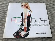HILARY DUFF SPANISH CD-ROM DVD - METAMORPHOSIS DIGIPACK PROMO ONLY