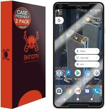 Google Pixel 2 XL Screen Protector (Case Friendly)[2-Pack], Skinomi TechSkin