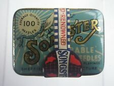 Songster Soft Tone Gramaphone Needles 5 x 100 5 Packs Original Outer Packaging
