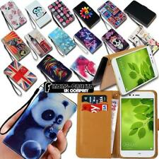 Leather Wallet Card Stand Flip Case Cover For Various Huawei SmartPhones