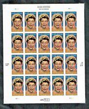 Us #4120 Mnh, Ella Fitzgerald-Black Heritage Sheet, Fv $7.80 (2007)