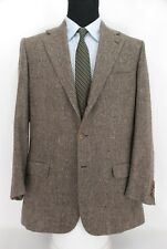 Recent Brioni 3-Btn Cashmere / Silk Sport Coat Jacket - Brown Gray Weave - 42L