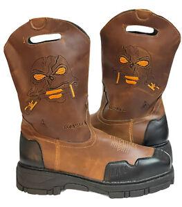 Custom Brown boots 9.5 M