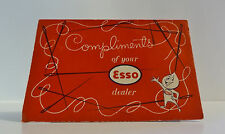 Vintage Esso Oil Co. Advertising Sewing Needle Kit Complimentary Gift