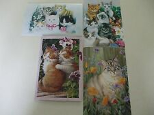 4 cat/kitten note cards with matching envelopes by Tree-Free Greetings #3