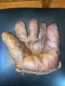 Antique 1920's Draper And Maynard Baseball Glove