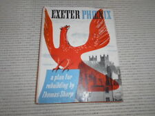 Exeter Phoenix: A Plan for Rebuilding by Thomas Sharp. WWII, Baedeker Raid