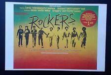 ROCKERS *RARE ORIGINAL 1991 ISLAND RECORDS POSTER* SKA RASTA REGGAE DUB