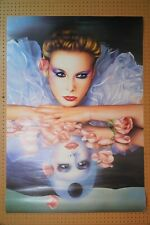 More details for vintage 1980s fantasy poster by libero patrignani - women and charms reverie