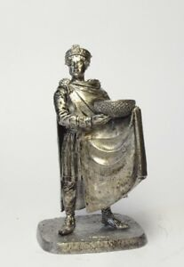 """Tin soldier, figure. Emperor Justinian """"The Great"""", Byzantium, 527-565 54 mm"""