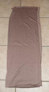 NEW NWOT Brown 72 X 27 Church Office or Casual Dress Head Neck Scarf