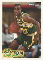 Gary Payton Fleer 1993/94 NBA Basketball Card #202