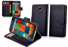 Leather Stand Wallet Flip Case Cover For Motorola Moto X  (2nd Gen)