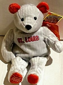MARK McGWIRE St. Louis Cardinals #25 Salvino's Team Set 2000 Bammers Gray Bear