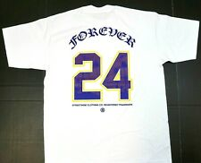 STREETWISE FOREVER 24 T-shirt Urban Streetwear Adult Men's 2sided Tee White New