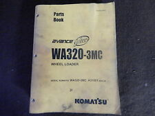 komatsu parts manual WA320-3mc- A31001 and up