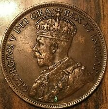 1917 CANADA LARGE CENT PENNY 1 CENT
