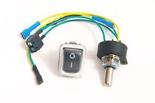 Potentiometer & Switch / Powakaddy Freeway with EDF - Fully Insulated Terminals