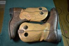 Boulet embroidered cowboy boots Mens sz 11 M Canada-made VGC
