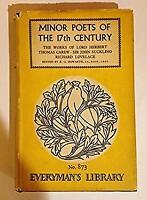 Minor Poets of the Seventeenth Century Everyman's Library No. 873