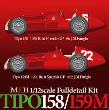 Model Factory HIRO 1/12 Full Detail Kit NEW Alfa Romeo TIPO 159M IN STOCK