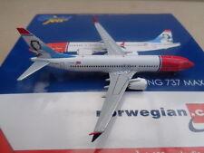 GEMINI JETS 1:400, NORWEGIAN, BOEING 737 MAX 8, LN-MAX