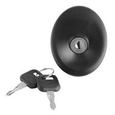Black Fuel Diesel Locking Cap Cover with 2 Keys for Ford Transit MK5 1994-2000