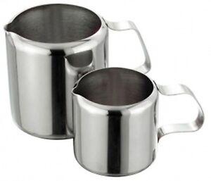 Sunnex Stainless Steel Milk Jugs Restaurants & Catering Use. Sugar Creamer Jug