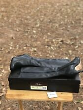Cole Haan Nike Air Size 8 B Womens Ladies High Heel Shoes Black Boots