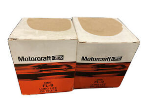2-Pack Motorcraft FL-9 Engine Oil Filter Replaces PH25 51618 L20033 PH24 T222