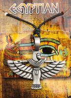 Collar Colgante Isis Ala E Tin Joyas Egipto ancienne-6985-AD1C