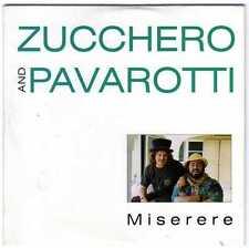 ZUCCHERO AND PAVAROTTI - MISERERE lytic by BONO-cd singolo  3 pz - nuovo 1992