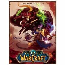 World of Warcraft 32 12x16 Poster Portfolio Collection New and Sealed Blizzard