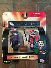 DC Minimates THE JOKER & HARLEY QUINN Series 1 Batman Suicide Squad Justice