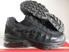 "NIKE AIR MAX 95 (GS) ""TRIPLE BLACK"" SZ 6Y-WOMENS SZ 7.5 [307565-055]"