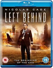 Left Behind (2015)      **Brand New Blu Ray**   Nicholas Cage