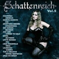 SCHATTENREICH VOL. 5 2 CD NIGHTWISH HIM UVM NEW