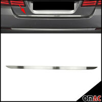 For BMW 5 Series F10 SD 2010-2016 Chrome Rear Tailgate  Trunk Lid Brushed Steel