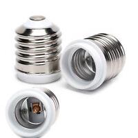 E40 To E27 Socket Base Halogen CFL Light Bulb Lamp Adapter Converter HolderH YK
