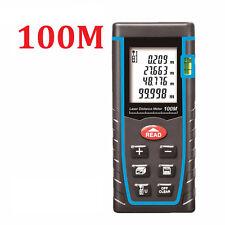 100M Digital LCD Laser Distance Meter Rangefinder Measure Diastimeter Test Tool