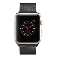 Apple Watch Series 2 - 42mm, WiFi - Gold with Black Milanese Loop