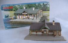 Vintage Vollmer #3509B Maxzell Station Ho Railroad Scenery Building Built w/ Box