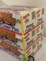 LITTLE DEBBIE OATMEAL CREME PIES BIG PACKS. GET SIX CASES WITH 12 UNITS IN EACH!